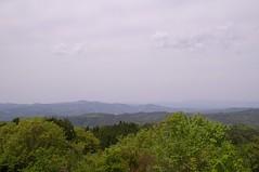 吉井竜天キャンプ場からの眺め