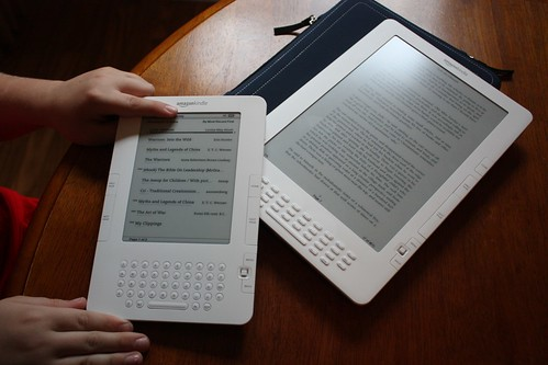 kindle2 & Kindle DX comparison