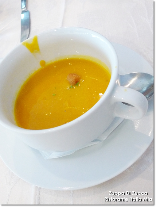Grilled Pumpkin Soup