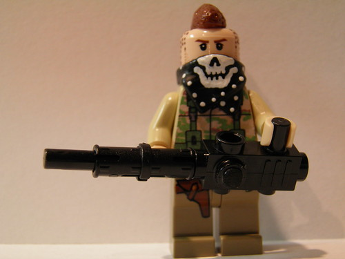 Custom Lego Soap Ghost Soldier Call of Duty Modern Warfare 2