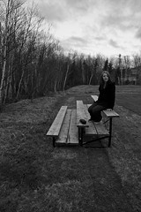 Sam on the bench (Zach Bonnell) Tags: newfoundland canonxt gander tamron1750f28