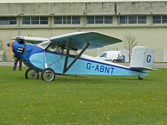 G-ABNT (QSY on-route) Tags: kemble egbp gvfwe greatvintageflyingweekend 09052010 gabnt