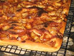 Cinnamon Apple Flatbread