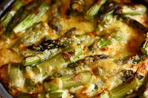 asparagus fritata
