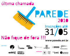 PAREDE 2010 (last open call)