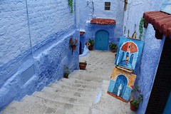 Chefchaouen, our blue town