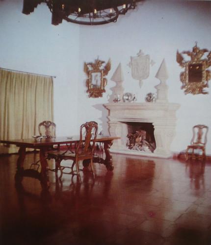 Palacio de Fuensalida en 1979. Sala de la planta baja