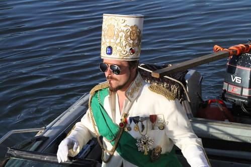 Ship's Capt. Haile Selassie