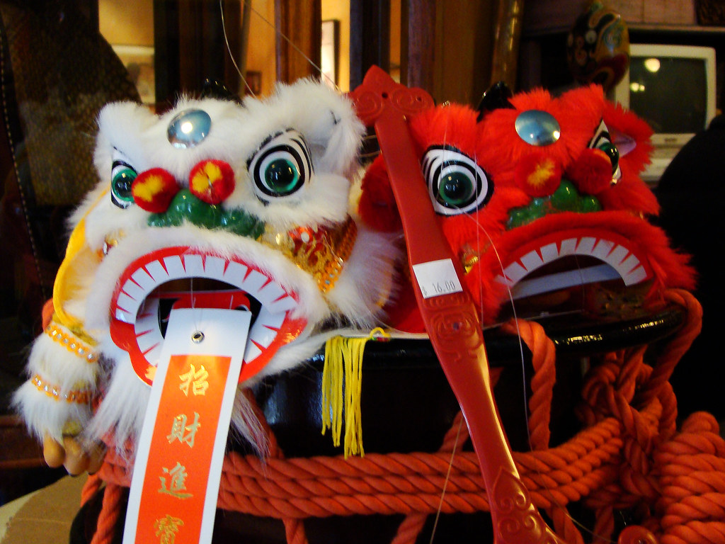 DSC03096 chinese lion dance  heads