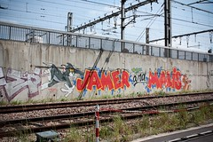 Jam Malice (Lemecnormal) Tags: paris st tom canon eos graffiti union jerry bretagne 1984 rails graff jam malis malice jamer brieuc 450d horfe