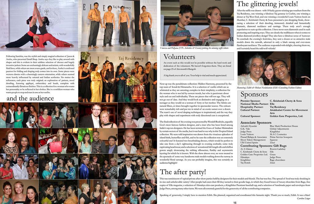 Rangoli Fashion Show pages 3-4