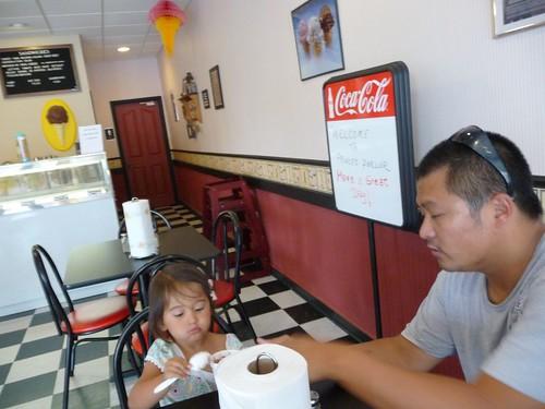 ice cream break.