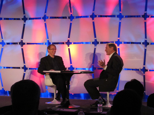 John Doerr and Charlie Rose