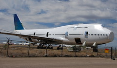 Boeing 747-419 ZK-NBS (707-348C) Tags: zknbs boeing747400 b744 roswell krow row 11042010 newmexico stored usa boeing 747 airliner jetliner passenger partedout airnewzealand anz