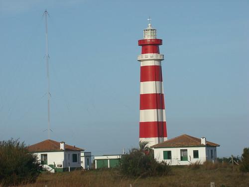 Farol do Chuí é o marco meridional da costa brasileira. Crédito: Renê Oliveira