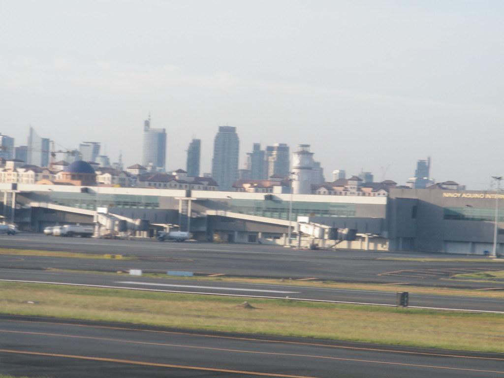 Makati City from Manila (Ninoy Aquino) International Airport