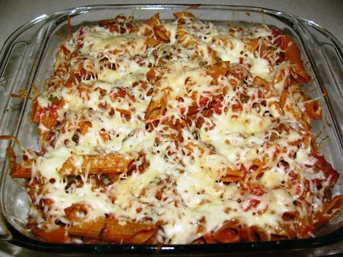 Turkey Sausage & Pasta Bake 10