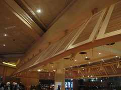 Casino louvres using veneered X-Board Plus