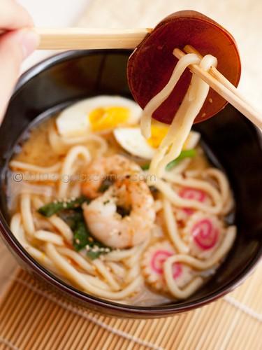 Spicy miso udon 2