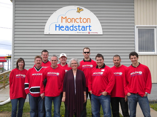 Volunteering at Moncton Headstart