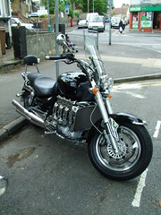 Triumph Rocket 3 (kenjonbro) Tags: black triumph rocketiii rocket3 2300cc