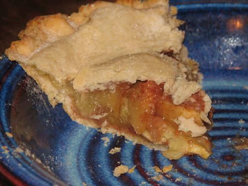 the last piece of apple pie