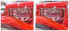 What Drives Me (sleightman 3D) Tags: classic car 3d crosseye engine stereo stereoview hyper crossview
