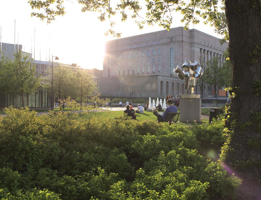 """Al sol. """"Verano en Helsinki"""""""