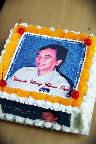 Birthday Cake w/ Edible Photo