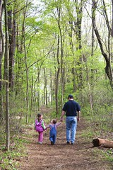 A Family Stroll (i need my blankie) Tags: family forest john woods evelyn behind braeden webbmountain storybookwinner
