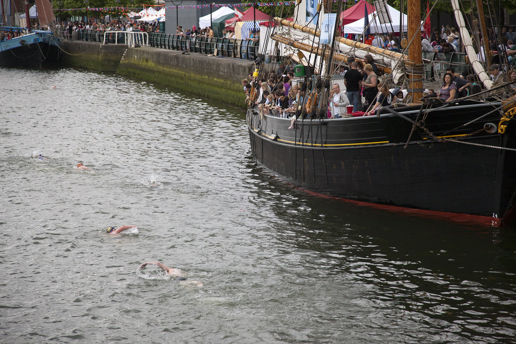 Liffey Swim - 2010 Dublin Maritime Festival