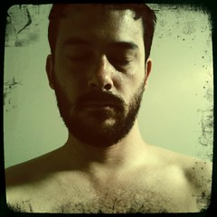 52 Weeks (14): Dreams (Sion+Anton) Tags: shirtless portrait hairy self dreaming sweaty squareformat eyesclosed 500x500 indreams sittinginbed iphoneography ©antonkawasaki gaybeardedmale iphone3gs hipstamaticapphelgavikinglensfloatfilm