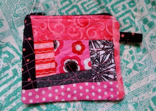 I sewed a pouch! - side one