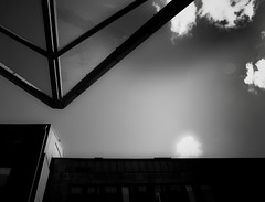Grafic architecture may 2010 (ksvala) Tags: bw architecture clouds triangle heaven grafic