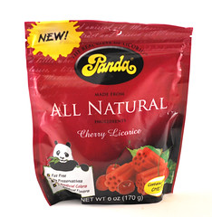 Panda Cherry Licorice Bag