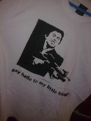 Scarface (jajael) Tags: art al stencil tshirt custom scarface camisa pacino artcraft serigrafia