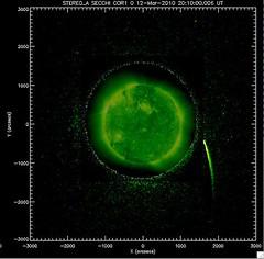 Visión de STEREO del cometa