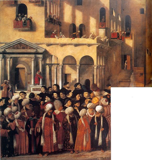 Giovanni Bellini amp Vittore Belliniano Martyrdom of San Marco ca 1515-26 Accademia Venice by Circa 1440