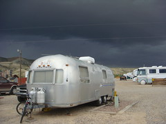 Storm at Rock Springs Wyoming KOA
