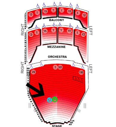 Tulsa PAC Seating Chart