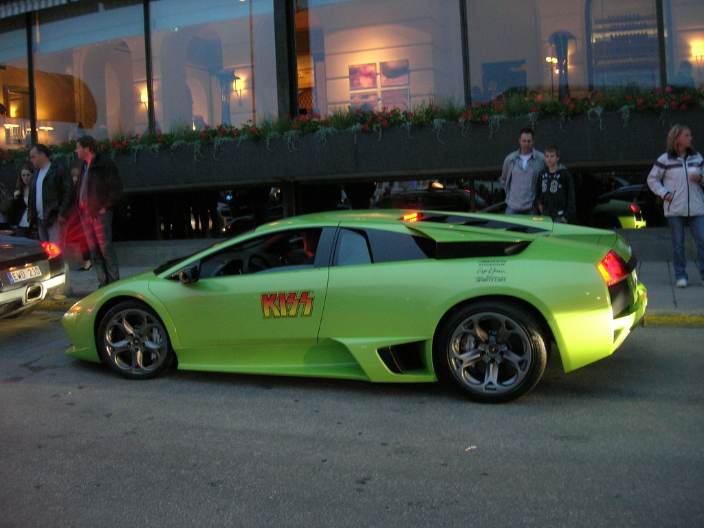 Lamborghini for the KISS in Stockholm - 1