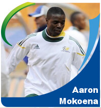 Pictures of Aaron Mokoena!