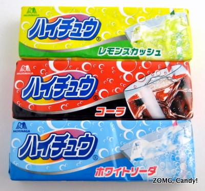 Hi-Chew Soda Flavors