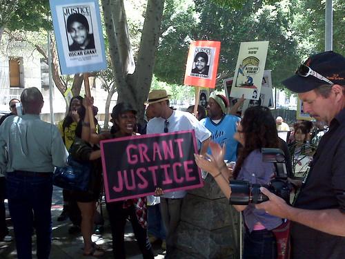 Oscar Grant Protest