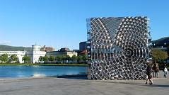 7x7x7 (erlingsi) Tags: sculpture norway metal skulptur bergen oc 169 metall thecube hordaland vestlandet erlingsi erlingsivertsen smlungeren brdbreivik