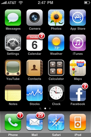 [REQ]Facebook Notification Icon like on iPho…