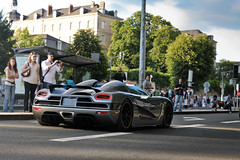 Koenigsegg Agera ([ JR ]) Tags: road street car canon eos grey gris amazing jr spot parade exotic mans le 17 50 tamron rare supercar spotting koenigsegg 2010 sighting 550d agera fialeix