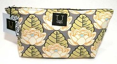 lotus pouch on grey
