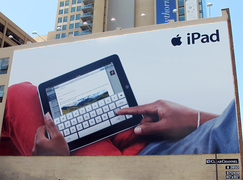 Day 165 / 365 - iPad Billboard.