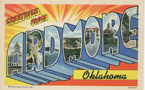 POSTCARD: Greetings from Ardmore (Front)
